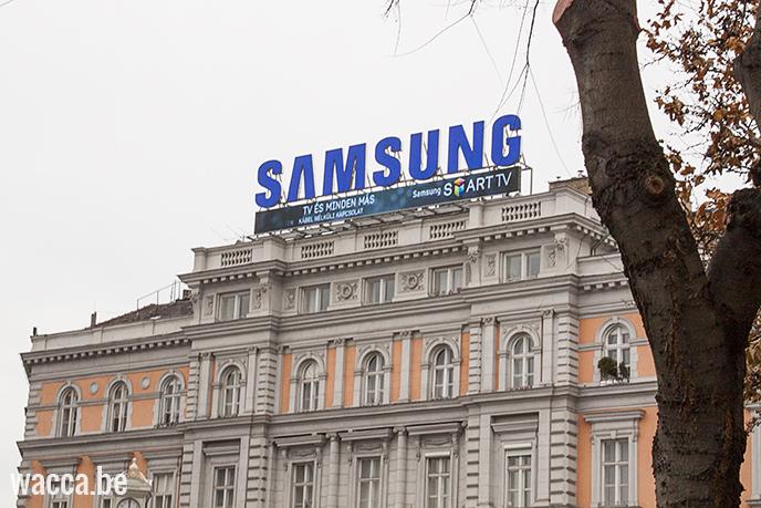Hongarije_Boedapest_wacca_reisblog_samsung_reclameborden_amerikaans
