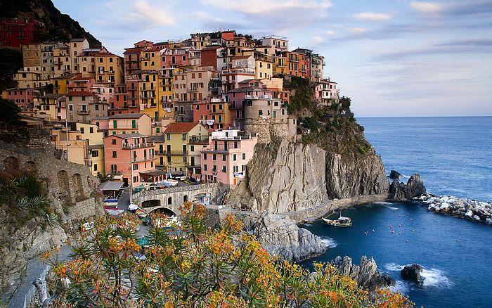 Italy, Cinque Terre veduta di Manarola, La Spezia (La Spezia, Cinque Terre, Manarola)