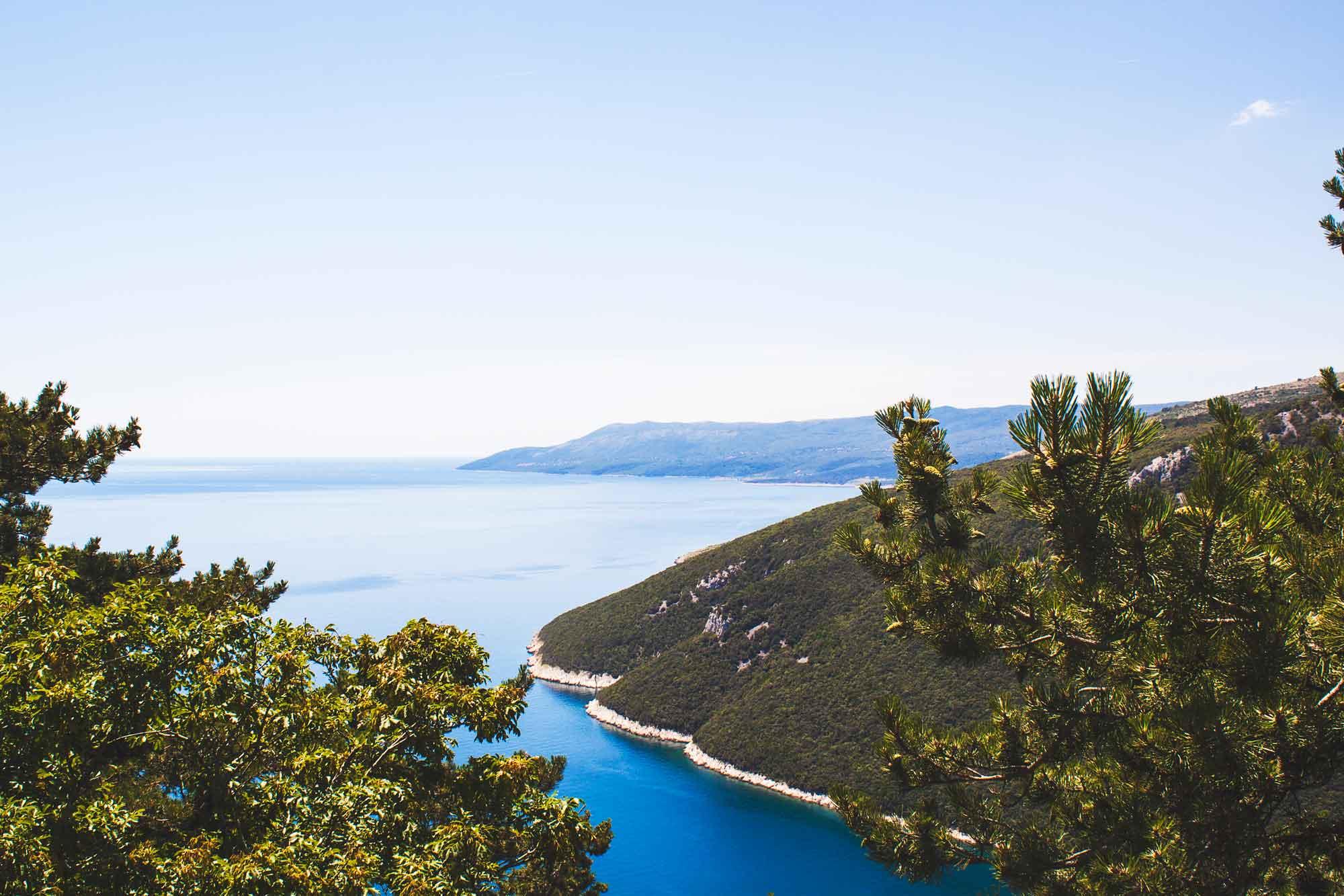 kust kroatie snorkelen